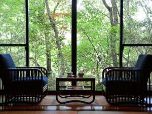 【一般客室】木々に囲まれながらひとときの休息を…