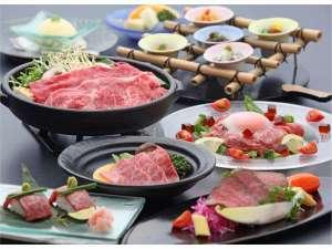 2017年初夏の近江牛会席。近江牛のすきやき、陶板焼きに炙り寿司など盛り沢山♪