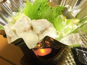 【冬の味覚会席】ふぐ小鍋(お料理一例)