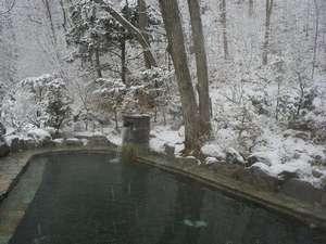 冬の露天風呂(男性)