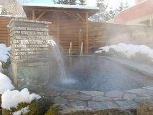冬の露天風呂 かけ流し100%