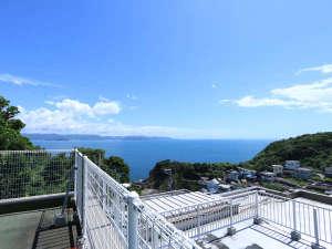 《屋上》和歌山湾を一望!