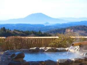 1階客室露天風呂からの景観(一例)