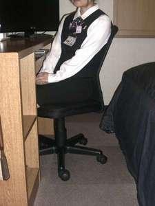 全室ハイネックチェアーに交換いたしました。背もたれの所がメッシュになっており座り心地抜群。