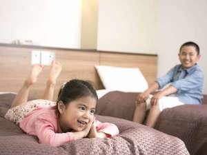 ◇ツインルーム 小学生以下のお子様は添い寝無料です♪(※寝具やアメニティ付きません。)