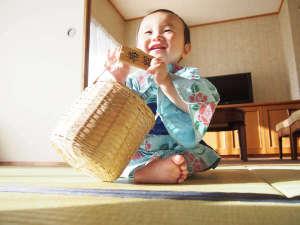 お子様大歓迎★初めての家族旅行は椿舘で!