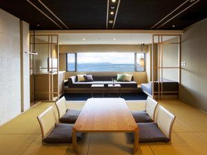 極上のラグジュアリー、最上階準特別室。
