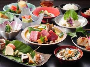 【創作会津郷土料理一例】地元の旬の食材を使用したこだわりの伝統会津郷土料理。