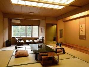 【新館一例】ゆったりした丁寧な造りの客室 12.5畳
