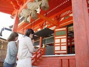 """""""赤い糸""""を連想させるような色ですよね~日御碕神社"""