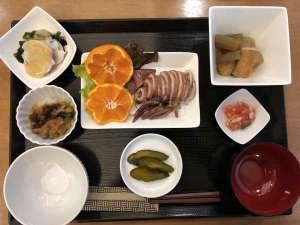 手作り日替わり朝食(一例)