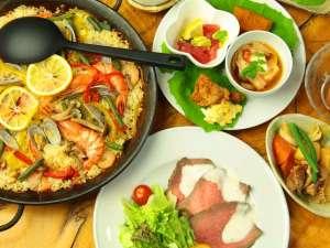 当館最大の魅力、それは群馬県の自然の恵みをふんだんに使った洋風家庭料理。
