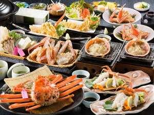 活¨松葉蟹フルコース/日本海直送!400g級タグ付松葉蟹を2杯分ご堪能いただけます。