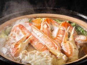 竹野海岸名物 かにすき鍋
