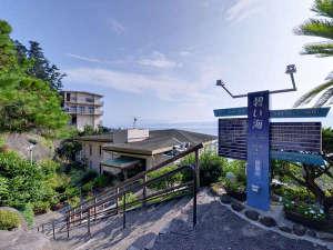 海辺のリゾートホテル 碧い海