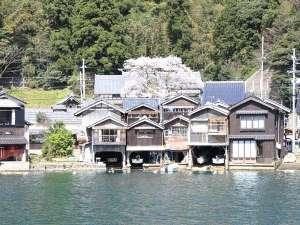 春の「伊根の舟屋」『海に浮かぶ舟屋の心地よさ』~家か?漁場か?窓の下は旬~