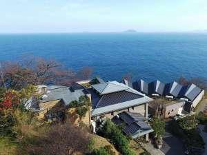 日本海一望!眼下には雄大な日本海!すべての露天風呂付客室から海がご覧いただけます