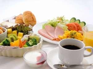 朝食バイキング一例(洋食)