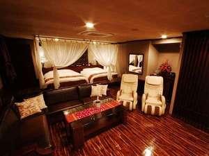 ■客室:「プラチナスイートルーム」はナント60平米!岩盤浴も完備で女子会でも大人気のお部屋です♪