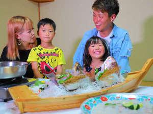 「このお魚なんだろ~」家族でワイワイ♪楽しみながらみんなで囲んで夕食を♪