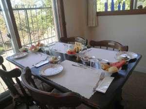眺めよい食堂