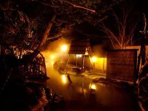 大気の湯 夜景