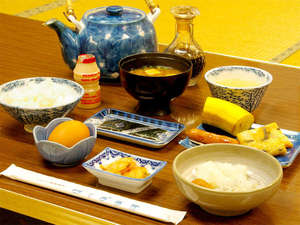 ■朝食一例■朝食は体に優しい和朝食をご用意致します。