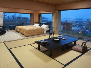 【露天風呂付特別室】10畳+7.5畳+檜展望風呂