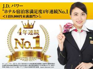 JDパワー4年連続NO1