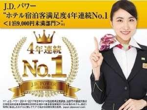 JDパワー4年連続NO.1