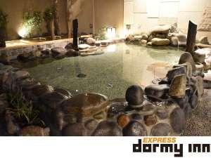 ◆露天風呂:岩風呂(夜)②(湯温:43℃)