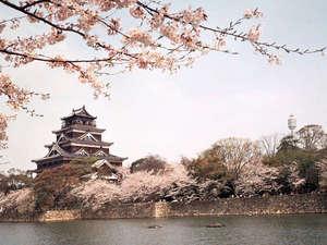 【広島城】春