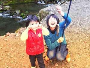 渓流釣り体験
