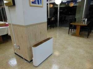 安心・安全のために「光触媒除菌・脱臭機」を設置!