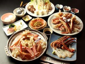 カニコース★つるだの蟹をほうばれば皆笑顔(^_-)-☆