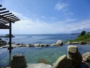 南紀白浜で唯一の混浴露天風呂!【浜千鳥の湯】潮の満ち干を感じられる絶景の湯です。
