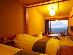 【波の抄/3~5階】お部屋の眺望は大海原です。