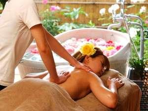 【癒し処「夢語」】アロマオイルを使用し、癒しの香りと空間を提供します