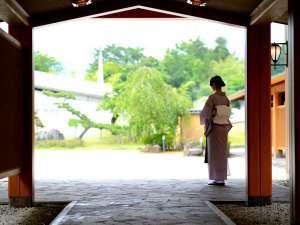 櫻離宮玄関
