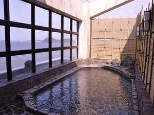 展望露天風呂からの景色は最高です!