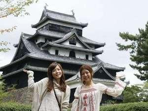 当館より松江城まで車で10分♪