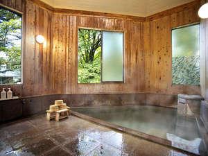 【泉質主義】草津温泉の6大源泉の1つ万代源泉100%掛け流しのお風呂