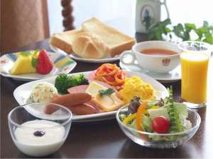 ■洋朝食■1日の始まりはボリューム満点の朝食から