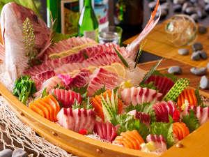 【3~5月 春の料理フェア】『海鮮5種の舟盛』※イメージ