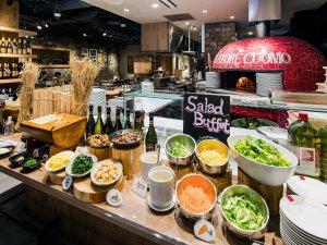 ◇朝食会場◇和洋食のビュッフェ形式でお楽しみいただけます! 営業時間:7時-10時30分(最終入店10時)
