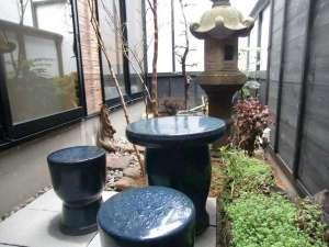 「さくら」の部屋の中庭