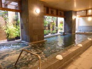 男女大浴場(サウナ・半露天付)15時~25時と6時~9時30分