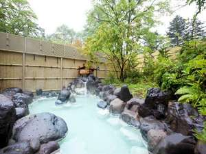 【露天風呂】雄大な自然の中でゆっくりにごり湯温泉をお楽しみ下さい。