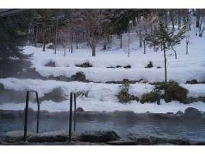 雪見風呂が楽しめます!