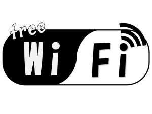 無料でWi-Fiをつかえます。